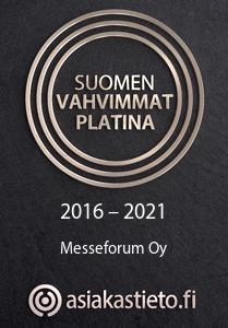 Messurakentaja Messeforum kuuluu Suomen vahvimpiin yrityksiin